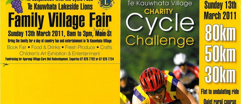 Te Kauwhata Village Charity Cycle Challenge