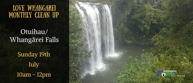 Otuihau/ Whangarei Falls Clean up