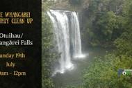 Otuihau/ Whangarei Falls Clean up