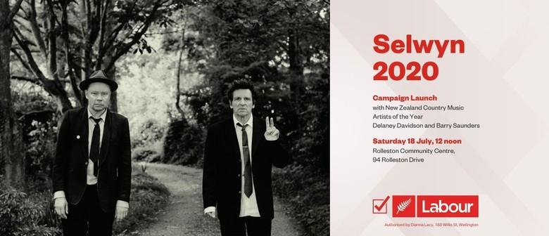 Selwyn 2020 Campaign Launch