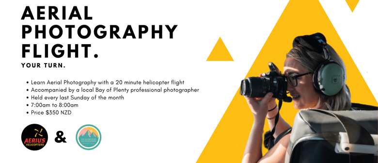 Aerial Photography Helicopter Flight