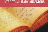 Introduction to Military Ancestors Workshop