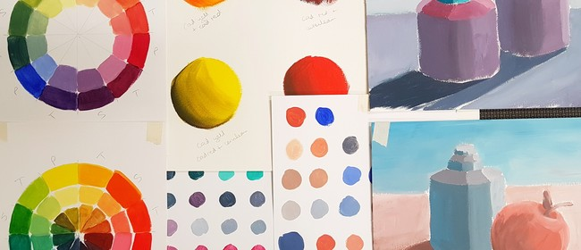 Learn to Paint With Acrylics - Colour Mixing Workshop