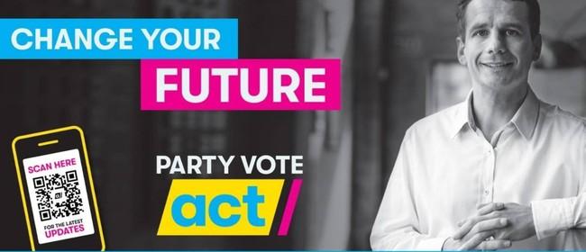 Meet David Seymour ACT Party Leader & Damien Smith ACT