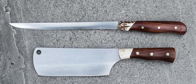 Kiwi Blade Knives at the Kumeu Market