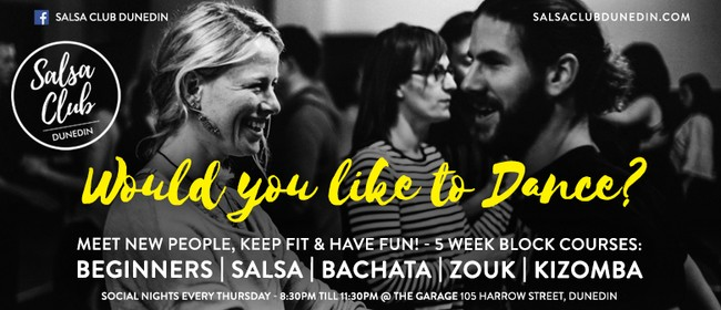 Dance Classes: Beginners, Salsa, Bachata, Zouk, Kizomba