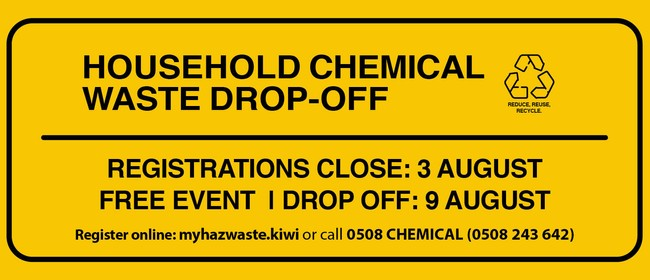 Household Chemical Waste Drop-off