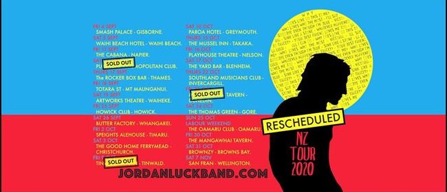 Jordon Luck Band NZ Tour 2020