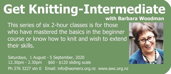 Get Knitting - Intermediate Class: POSTPONED