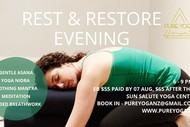 Rest and Restore Yoga Evening Workshop With Pragyadhara