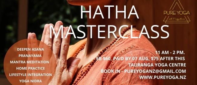 Hatha Yoga Masterclass with Pragyadhara