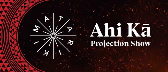Ahi Kā Projection Show - Matariki ki Pōneke
