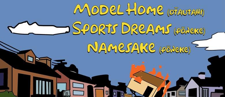 Model Home (Ōtautahi) with sports dreams & Namesake