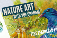 Nature Art: Fine Feathered Friends
