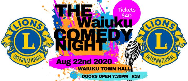 The Waiuku Comedy Night: CANCELLED
