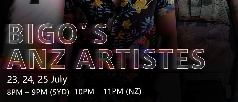 Beau, Timomatic and Taylor Henderson on BIGO's ANZ Artistes