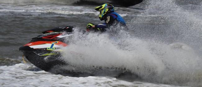 Jet Ski Racing on the Manukau