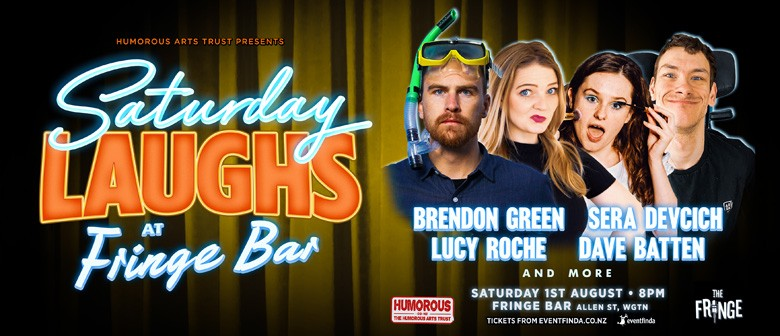 Saturday Laughs with Brendon Green and Sera Devcich