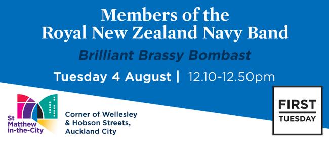 First Tuesday Concert – Royal NZ Navy Band
