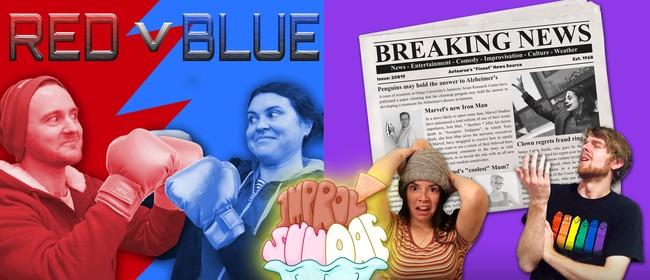 """Improv Sundae - ft. """"Red v Blue"""" & """"Breaking News"""""""