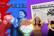 "Improv Sundae - ft. ""Red v Blue"" & ""Breaking News"""