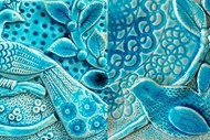 Magical Blue Tile Clay Class