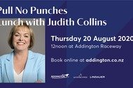 Pull No Punches Lunch with Judith Collins