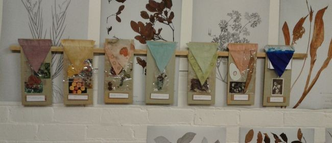 Eco Printing on Fabric with Ari Senior