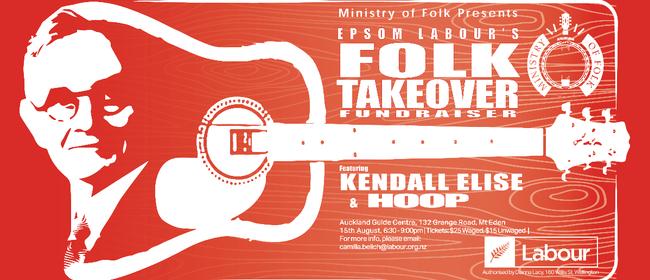Ministry of Folk: Epsom Labour Party Fundraiser