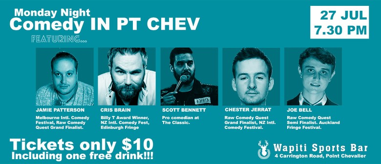 Monday Night Comedy in Point Chev