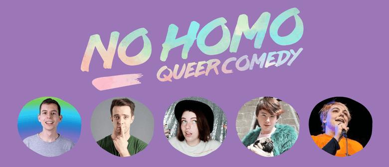 No Homo: Queer Comedy Wellington - August