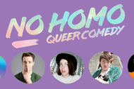 No Homo: Queer Comedy Wellington - August