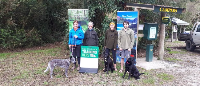 Kiwi & Weka Aversion Training for Dogs