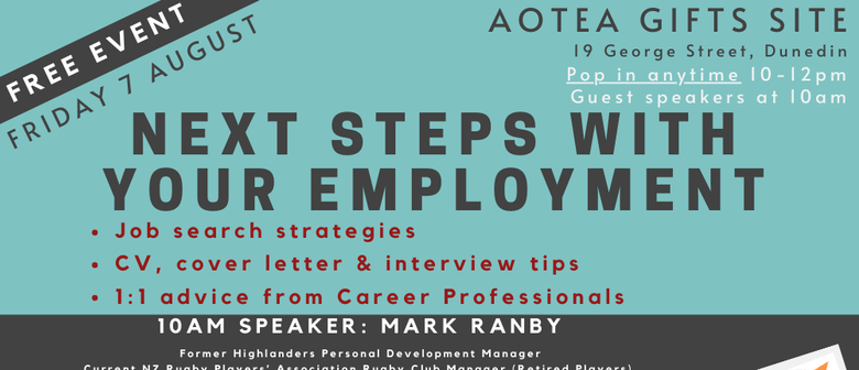 Next Steps With Your Employment