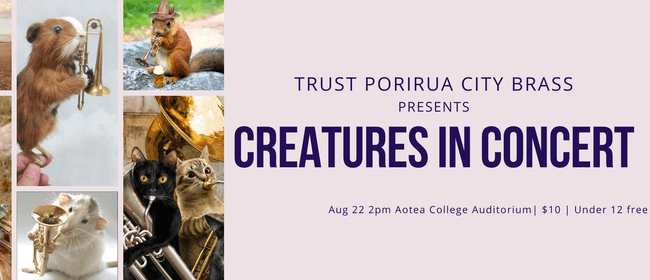 Creatures in Concert: CANCELLED