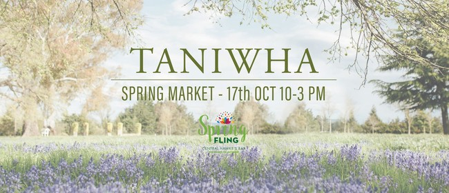 Taniwha Spring Market