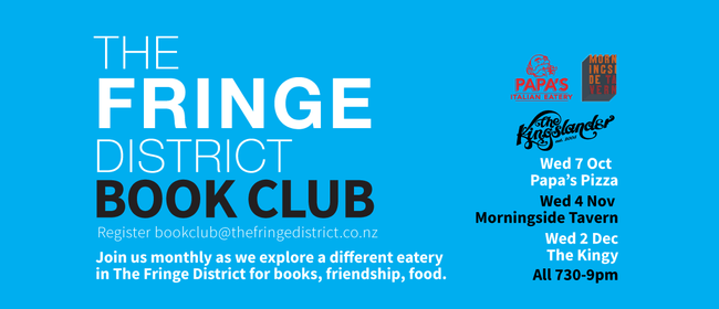 The Fringe District Book Club: CANCELLED