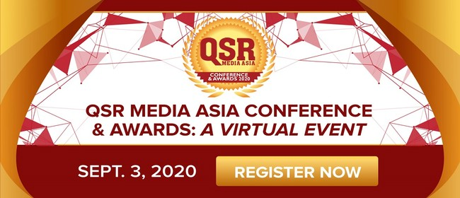 QSR Media Asia Conference & Awards: A Virtual Event
