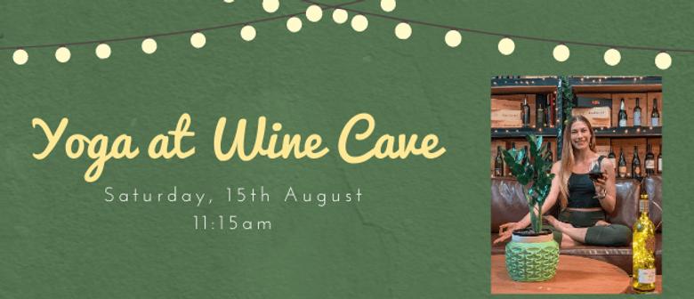 Yoga at Wine Cave