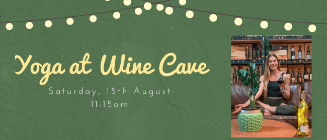 Yoga at Wine Cave