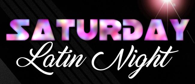 Saturday Latin Social Night