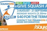SquashGym Juniors - Give Squash A Go Mondays