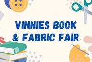 Vinnies Book and Fabric Fair
