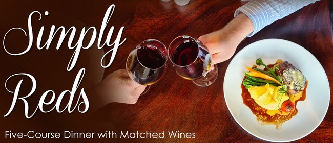 Simply Reds - Five-Course Food & Matched Wine Evening