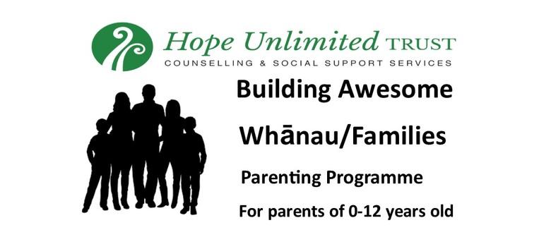 Building Awesome Whānau/ Families Parenting Programme