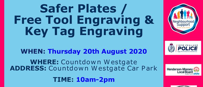 Safer Plates & Tool Engraving & Key Tag Engraving: POSTPONED