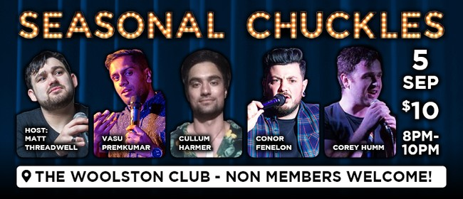 Seasonal Chuckles Comedy Night