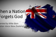 Christian Talk: When A Nation Forgets God