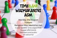 TimeBank Waimakariri AGM