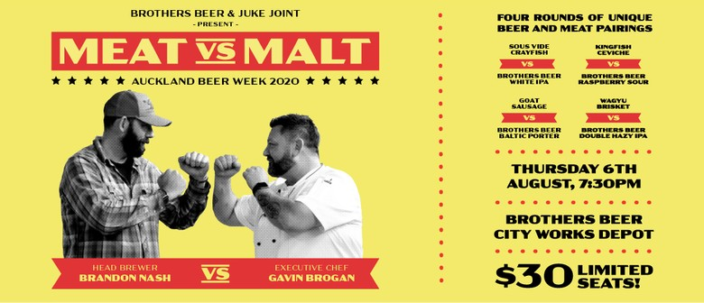 Brothers Beer Presents Meat vs Malt